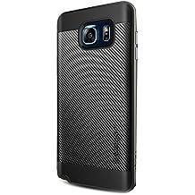 Spigen SGP11689 - Funda para Samsung Galaxy Note 5, Negro/Plata