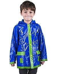 Little Boy's Green Frog Rain Coat