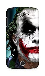 Amez designer printed 3d premium high quality back case cover for Acer Liquid Z530 (The Joker)