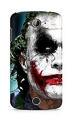 Amez designer printed 3d premium high quality back case cover for Acer Liquid Z530 (The Joker)