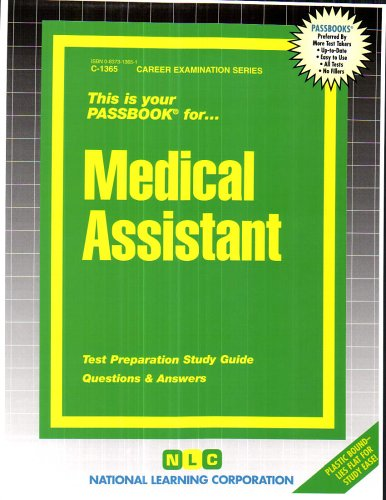 Medical Assistant (Passbook Series)