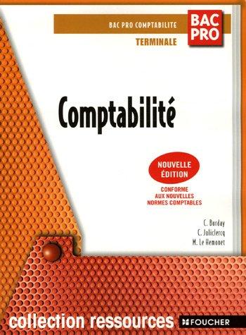 Comptabilité Tle Bac Pro