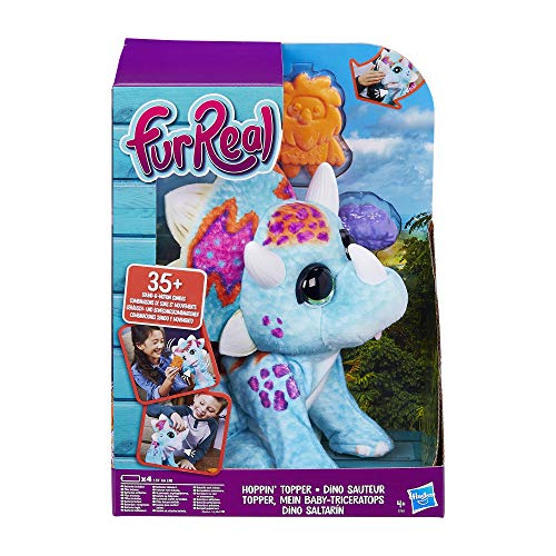 Fur Real Friends FURREAL Hoppin' Topper Interactive Plush Pet Toy, 35+ Sound-&-Motion combinations, Ages 4 & up