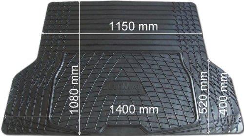 Kofferraum-Gummimatte L univ. zuschneidbar 140x105