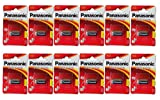 Panasonic CR123 x , 12 (12 Stücke) Heftchen