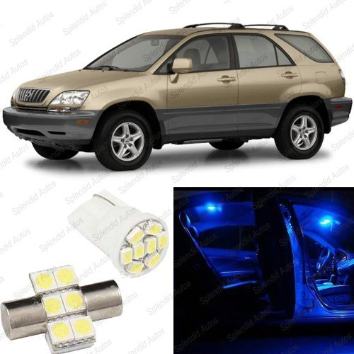 splendid-autos-ultra-blue-led-lexus-rx300-interior-package-deal-1998-2003-7-pieces-by-splendid-autos