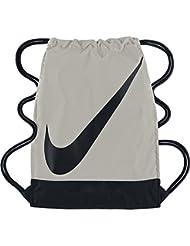 Nike Erwachsene FB Gymsack 3.0 Turnbeutel mit Swoosh, Blassgrau/Schwarz, 54 x 40 x 4.3 cm