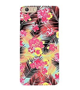 Amazing Floral Painting 3D Hard Polycarbonate Designer Back Case Cover for Micromax Canvas Knight 2 E471
