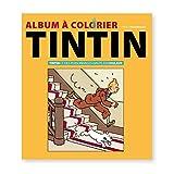 Moulinsart Livre Album à colorier Tintin et Les Personnages en Couleur 24367 (2018)...