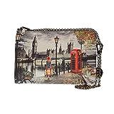 YNOT borse donna pochette con polsino e tracolla K-303 AUTUMN UNICA Autumn