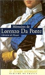 Mémoires (1749-1838), par le librettiste de Mozart