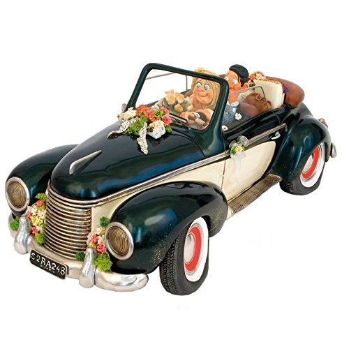 Forchino Guillermo 'Just Married' Comic Art Skulptur, Hochzeiten (Autos, GrößE-Mensur 50% FO 85055