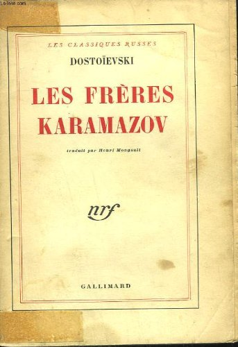Les freres karamazov par Fedor Dostoievski