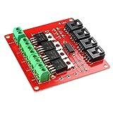 Haljia IRF540 MOSFET-Tasten-Modul für Arduino 4-Kanal