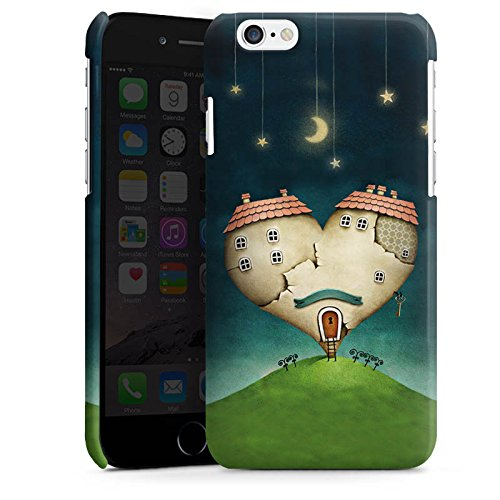 Apple iPhone 5 Housse étui coque protection Amour Amour C½ur Cas Premium brillant