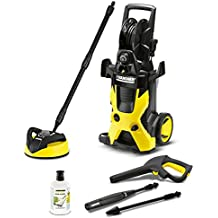 Karcher K5 Premium Home Pressure Washer Package: Includes Karcher K5 Pressure Washer, Vario Spray Lance, Dirt Blaster Spray Lance, 8m High Pressure Hose and 1L 3-in-1 Stone Cleaner
