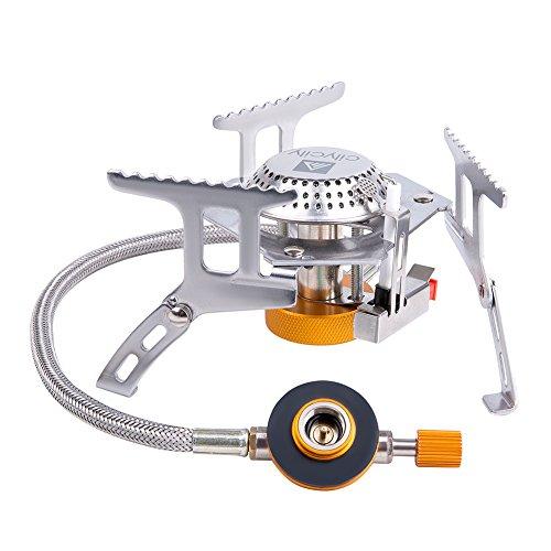 Mini hornillo de gas plegable y portátil