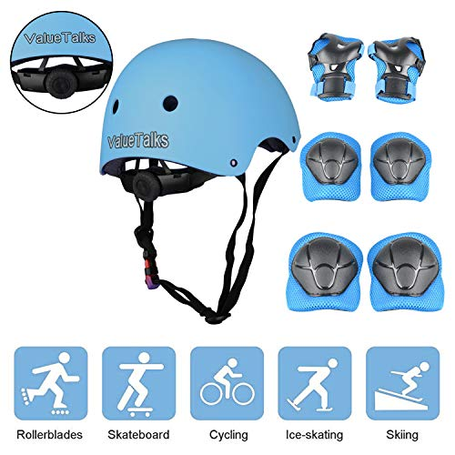 Valuetalks Casque Vélo Enfant Sets de...