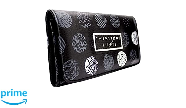NEW OFFICIAL TWENTY ONE PILOTS ELECTROPOP PATTERNED COIN /&CARD TRI-FOLD PURSE