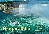 Niagarafälle - American Falls und Horseshoe Fall (Wandkalender 2019 DIN A3 quer): Die Niagarafälle - imposante Wasserfälle mit gebremster Kraft. (Monatskalender, 14 Seiten ) (CALVENDO Natur)