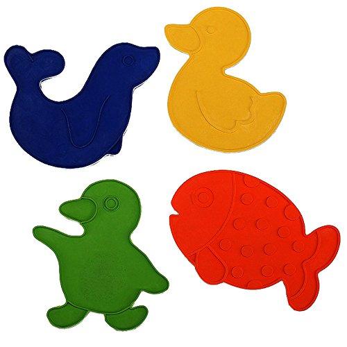 reer-les-antiderapants-de-baignoire-ou-de-douche-motifs-animaux-accessoires-de-bain-multicolore