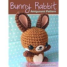Bunny Rabbit Amigurumi Pattern (Crochet Pattern Books) (English Edition)