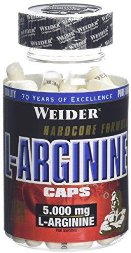 Weider Complément alimentaire L arginine Gélules 138 g