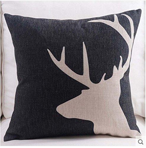 la-testa-di-cervo-su-sfondo-nero-cotone-lino-federa-decorativo-federa-copricuscino-cover-457-x-457-c