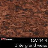 MST-Design Wassertransferdruck Folie I Starter Set Klein I WTD Folie + Dippdivator/Aktivator + Zubehör I 4 Meter mit 50 cm Breite I Holz Wurzelholz I CW-14-4