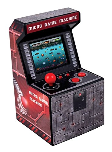 Mini Recreativa Arcade (Rojo)
