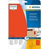 Herma 4422 Farbetiketten ablösbar 20 Stück auf 20 Blatt