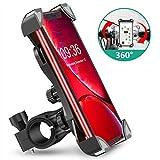 Cocoda Soporte Movil Bici, 360° Rotación Soporte Movil Moto Bicicleta, Anti Vibración Porta Telefono Motocicleta Montaña para iPhone 11 Pro MAX/XS MAX/XR, Samsung S10/S9 y Otro 4.5-7.0' Móvil