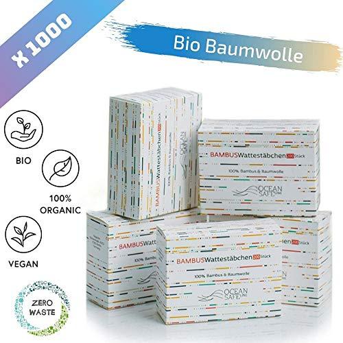 Bastoncillos Ecológicos  Bio algodón y Bambu
