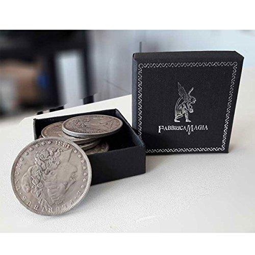 Fabbrica magia morgan dollar steel ( confezione da 5 pezzi )