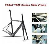 Carbon Rennrad,SAVADECK Phantom3.0 700C Rennrad Kohlefaser Rennräder Fahrrad Shimano Ultegra 8000 22 Speed Group Set mit Michelin 700C*25C Reifen und Fizik Sattel (56cm, Grau) - 2
