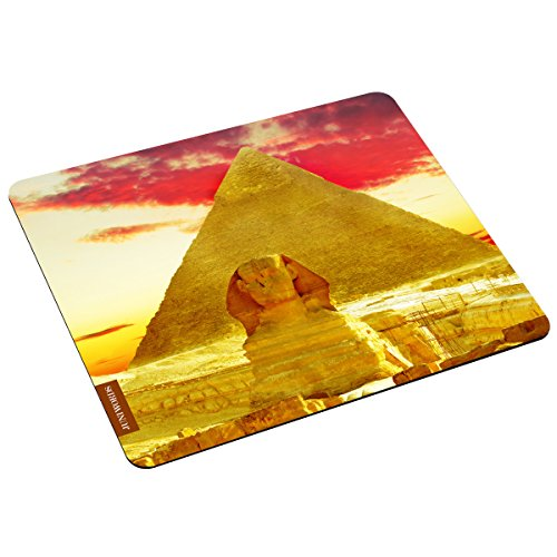 """Preisvergleich Produktbild Wandkings Mousepad / Mauspad mit Motiv """"Ägypten"""" - ideales Geschenk zum Geburtstag, Weihnachten u.v.m."""