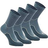 QUECHUA ARPENAZ 50 ADULT HIGH CUT NATURE HIKING SOCKS 2 PAIRS - BLUE