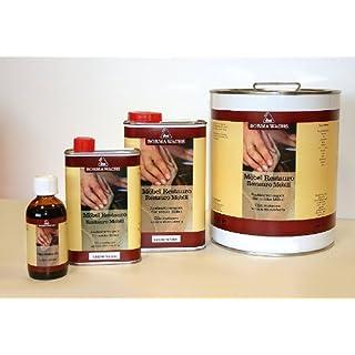 500ml Möbel Restauro Öl Restaurierungsöl Pflegemittel für Dunkles Holz Wachs Wax