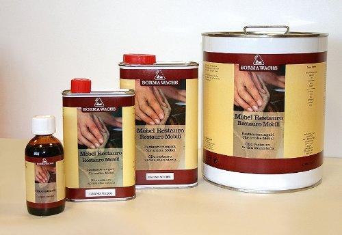 1000ml Möbel Restauro Öl Restaurierungsöl Pflegemittel Helles Holz Wachs Wax