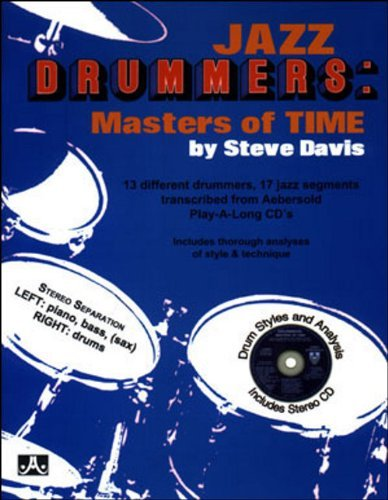 Jazz Drummers: Masters Of Time (Book & CD Set) by Steve Davis (2010-09-07)