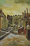 1art1 118654 Vincent Van Gogh - Hinterhöfe In Antwerpen Im