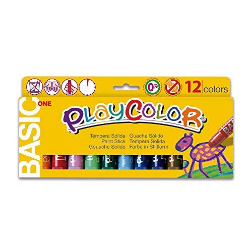 Instant 2610731 - Paquete 12 temperas sólidas colores