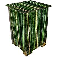 Preisvergleich für Tabouret en bois imprimé Bambou Werkhaus