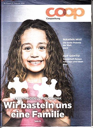 Coopzeitung (CH) 9 2018 Lebensmodell Patchwork Zeitschrift Magazin Einzelheft Heft Coop