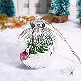 Dorical Weihnachten Dekoration Fenster Weihnachten Baum Anhänger Hängend Zuhause Verzierung Weihnachten Dekoration Ball