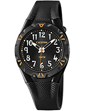 Calypso by Festina Armbanduhr Damenuhr Mädchenuhr Analoguhr 10ATM K6064/6