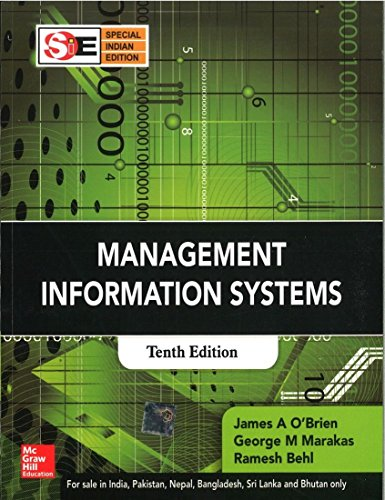 management information systems james o brien Buy management information systems online now and discover how these systems have such power in the computing world written by james a o'brien.