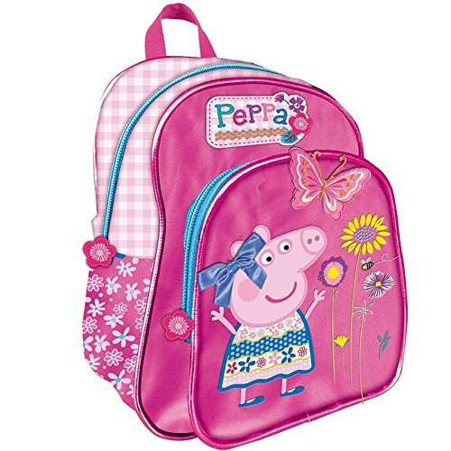 Mochila de Peppa Pig - Para Guardería, Color Rosa