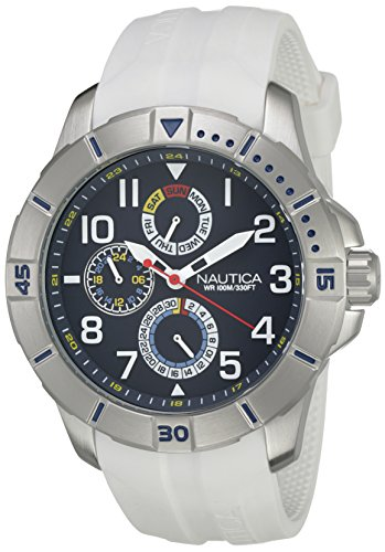nautica-nai12514g-montre-homme-quartz-analogique-cadran-bleu-bracelet-silicone-blanc