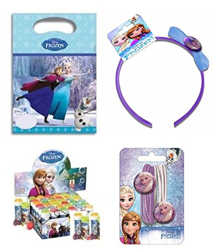 Irpot REGALINI Frozen Dopo Festa Bambina con Cerchietto